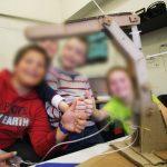 Création d'un bras robotisé en carton