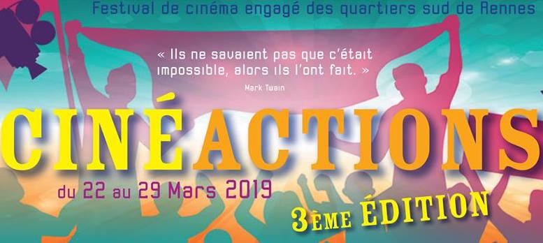 FESTIVAL CINEACTIONS – LES PROJECTIONS A LA MJC – MARDI 26 MARS