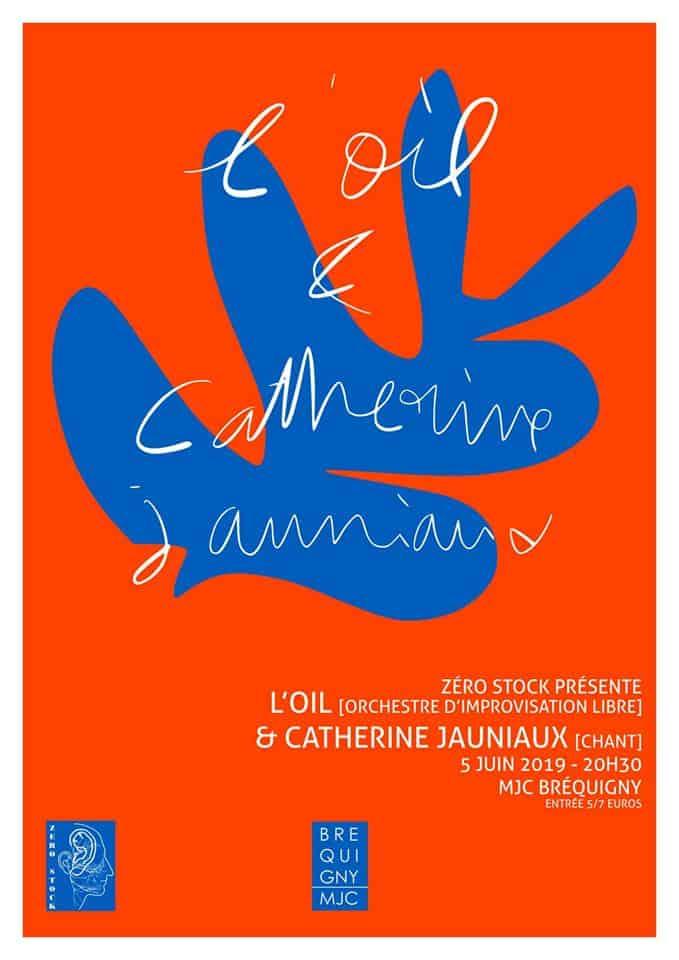 L'OIL joue avec Catherine JAUNIAUX – 5 juin